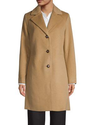 Notch Lapel Walker Jacket by Calvin Klein
