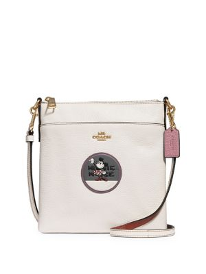 Disney X Coach, Disney Minnie Mouse Patch Leather Crossbody Bag by Coach