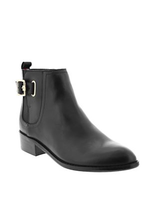 Classic Buckle Booties by Tommy Hilfiger