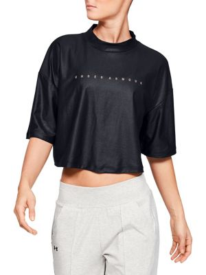 Unstoppable Mock Short Sleeve Top by Under Armour