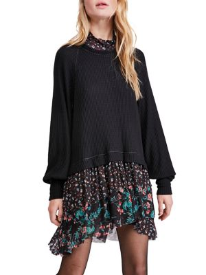 Opposite Attraction Mini Dress by Free People
