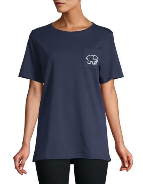 Ella imprimé Hudson's Bay T à shirt X Company Ivory HIWD9EY2