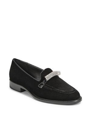 Classic Embellished Loafers by Giuseppe Zanotti
