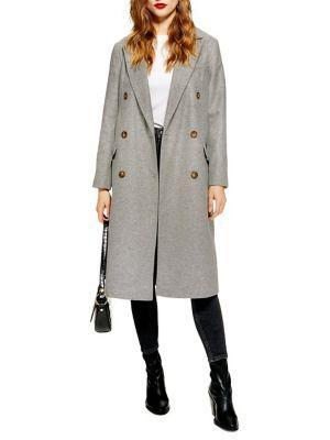 Ella Melton Coat by Topshop