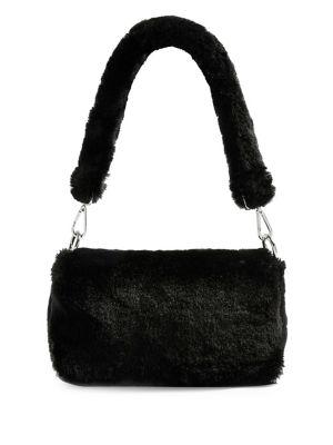 Faux Fur Cici Shoudler Bag by Topshop