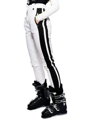Justin Colourblock Suspender Ski Pants by Topshop