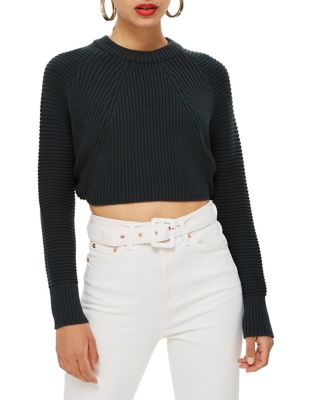 Super Cropped Sweater by Topshop
