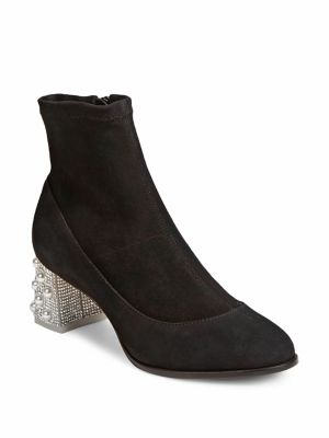 Felicity Leather Mid Ankle Boots by Sophia Webster