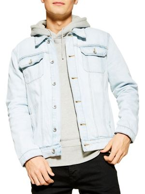 Classsic Fit Western Denim Jacket by Topman