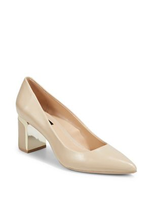 Elie Leather Pumps by Dkny