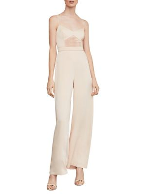 Sleeveless Strappy Wide Leg Jumpsuit by Bcbg Maxazria