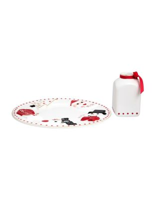 Santa's Milk And Cookies Two Piece Set by Fao Schwarz
