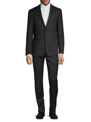 Extra Slim Fit Wool Suit by Calvin Klein