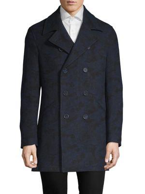 Classic Long Sleeve Coat by Dkny