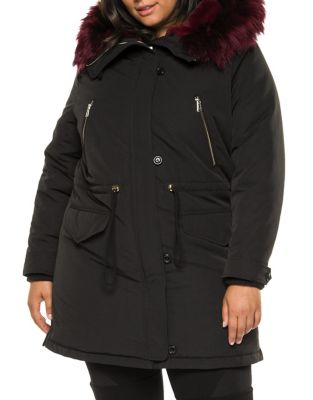 Faux Fur Lined Parka by Dexed Out