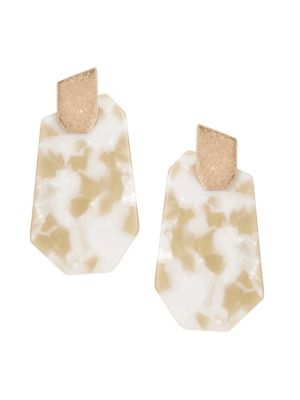 Marbled Pointy Earrings by Etereo