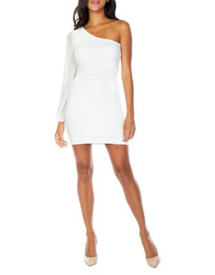 Cupa One Shoulder Bodycon Dress by Tfnc