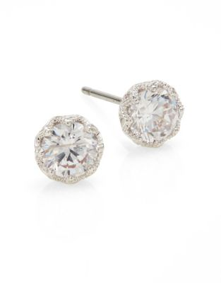 Stud Earrings by Nadri