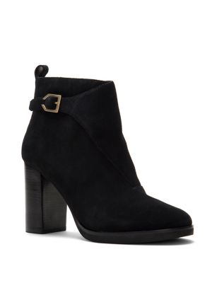 Harrington Grand Riding Suede Booties by Cole Haan