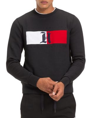 X Lewis Hamilton Colourblock Flag Fleece Sweatshirt by Tommy Hilfiger