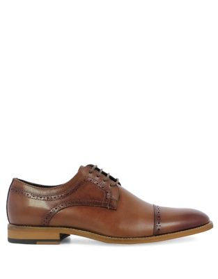 Dickinson Cap Toe Leather Oxfords by Stacy Adams