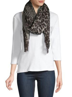 Patchwork Wool Scarf by All Saints
