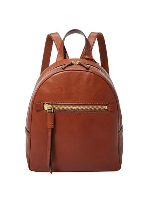 Mini Megan Leather Backpack by Fossil