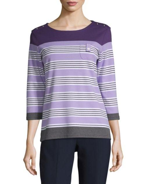 Chloe Karen Scott Karen Sweater Scott Striped b7Ygy6f