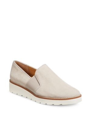 Hailie Suede Slip On Sneakers by Franco Sarto