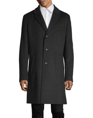 Wool & Cashmere Trench Coat by Hugo