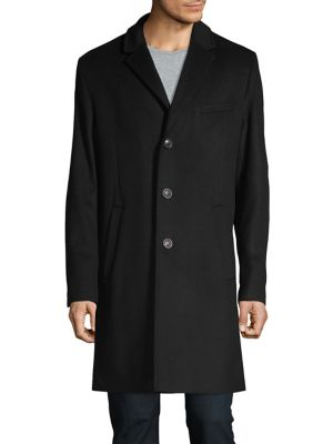Malte 1841 Wool & Cashmere Coat by Hugo