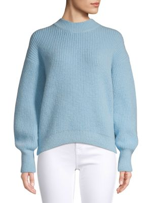 Textured High Low Sweater by Hugo