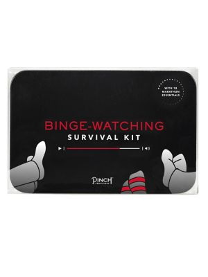 18 Piece Binge Watching Survival Kit by Pinch Provisions