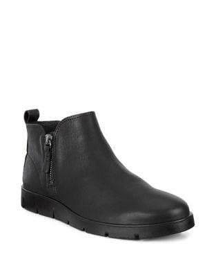 Bella Zip Leather Booties by Ecco