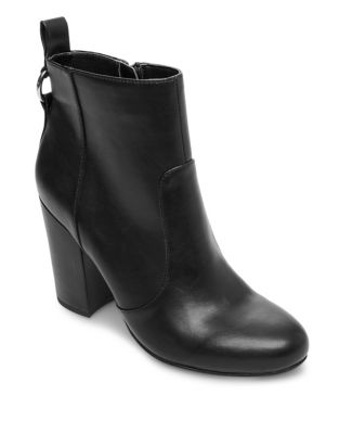 Block Heel Ankle Booties by Design Lab Lord & Taylor