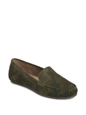 Over Drive Leather Loafers by Aerosoles