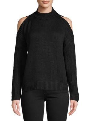Cold Shoulder Sweater by Design Lab
