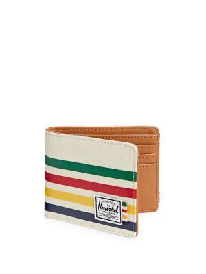 X Herschel Classic Stripe Hank Wallet by Hudson's Bay Company