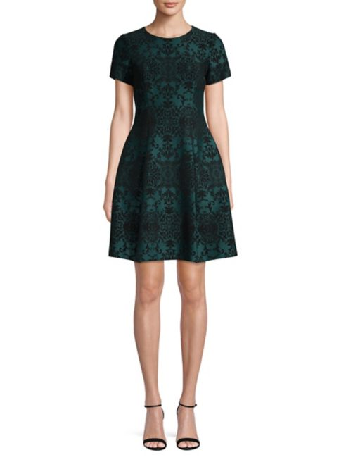 Camuto Textured Flare Vince Fitamp; Dress k0wnX8OP