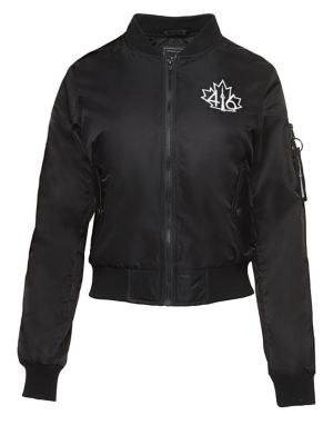 Logo Bomber Jacket by 416 Company