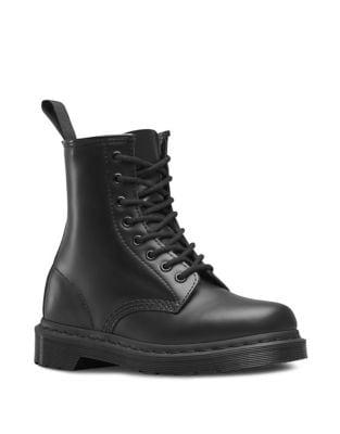 Originals 1460 Mono Leather Combat Boots by Dr. Martens