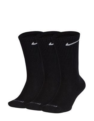 Three Pack Perfect Cushion Crew Training Socks by Nike