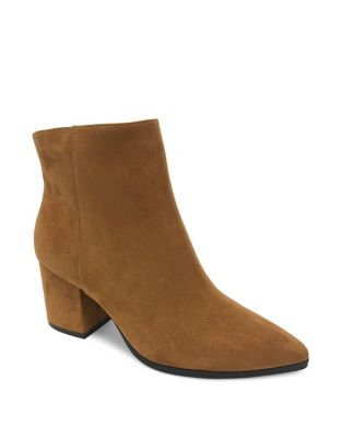 Marley Pointy Block Heel Booties by Core Life