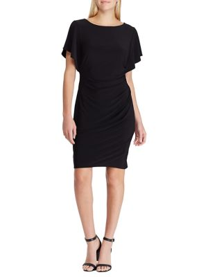 Ruffled Jersey Dress by Chaps