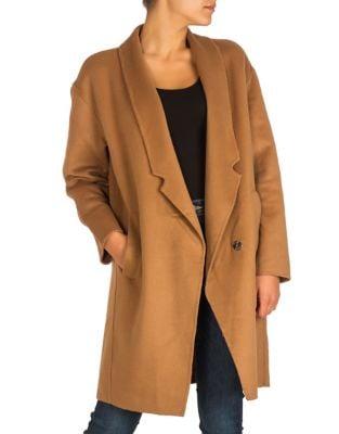 Lightweight Notch Coat by Guess