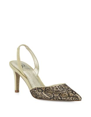 Sling Back Point Toe Pumps by Adrianna Papell