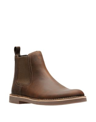 Leather Chelsea Boots by Clarks