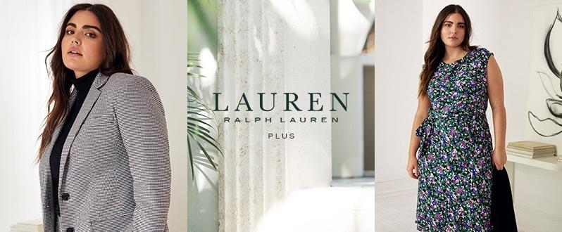 Ralph Lauren 2X Tan Dress Long Sleeve Boat Neck