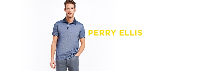 5412e3977 Perry Ellis | Men - Clothing - Casual Button-Down Shirts - lordandtaylor.com