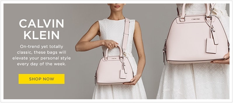 d49100ecabe4 Calvin Klein light pink small convertible satchel at lordandtaylor.com